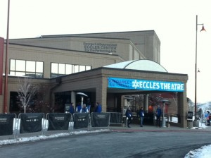 Eccles Theater is one of several theaters around Park City that screen Sundance films. (Credit: John Brown)