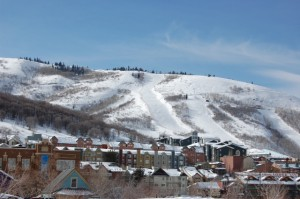 The Wasatch Mountains surround Park City. (Credit: Marvin Brown)
